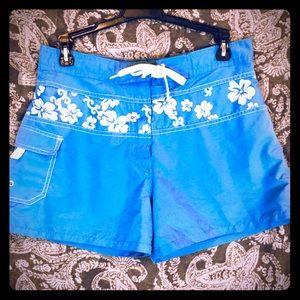Hawaiian Style Swim Shorts